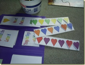 Heart pattern strips