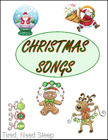 Agile image in christmas caroling songbook printable