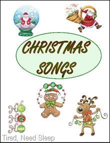 Fabulous image regarding christmas caroling songbook printable