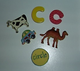 C phonics box objects