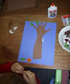 arm and hand print trees (4)