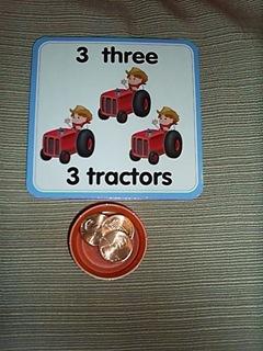 3 tractors, 3 pennies