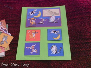 sequencing nursery rhymes
