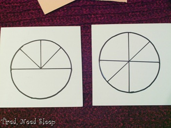 Cutting lines on the back of patterned paper