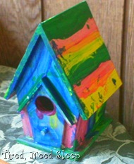 birdhouse, painted (1)