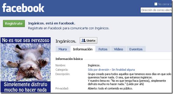 Ingánicos. - Facebook