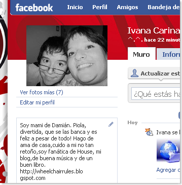 Facebook - Ivana Carina