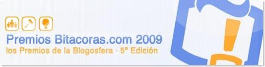 Premios Bitacoras.com 2009 -