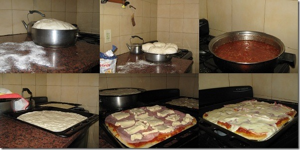 Behind the scene Pizzas de la Ivy