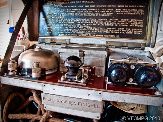 © VE3MPG-1940 Telephone Set D.MK.V wide