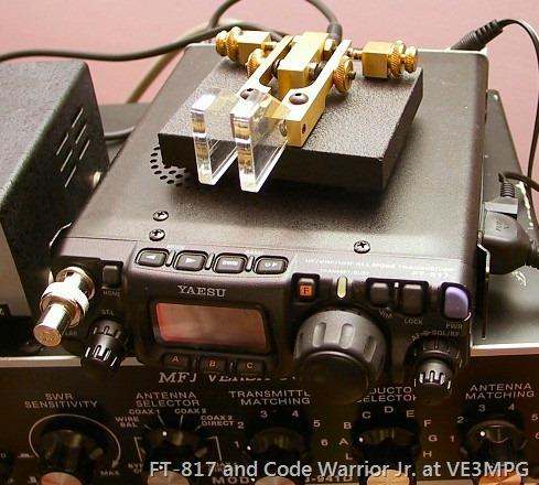 Code Warrior on FT817
