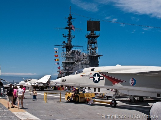 © Bob Baillargeon - USS Midway - Flight Deck