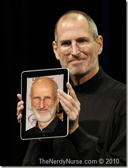 Someone Get James Cromwell outta that iPad!