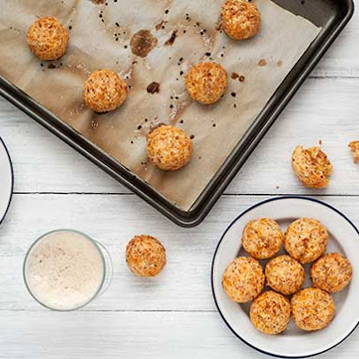 Gluten Free Ham and Cheese Sandwich Balls
