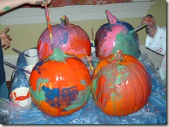 Pumpkin Painting on High Street 005