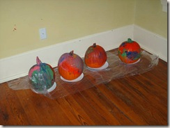 Pumpkin Painting on High Street 006