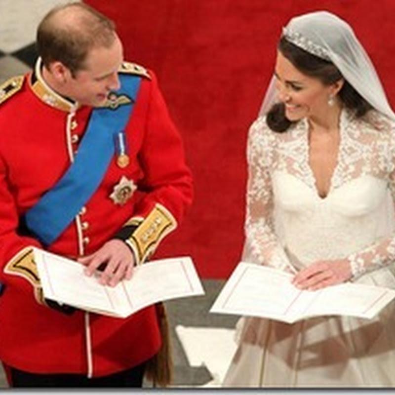 Gambar Perkahwinan Prince William dan Kate Middleton | The Royal Wedding | 29/04/2011