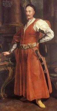 Szlachcic polski o Noble de Polonia hacia 1650