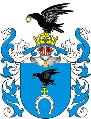 Blason o clan heraldico Slepowron