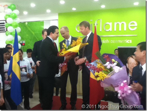 Jesper Martinsson Sang Tham Oriflame Vietnam 1