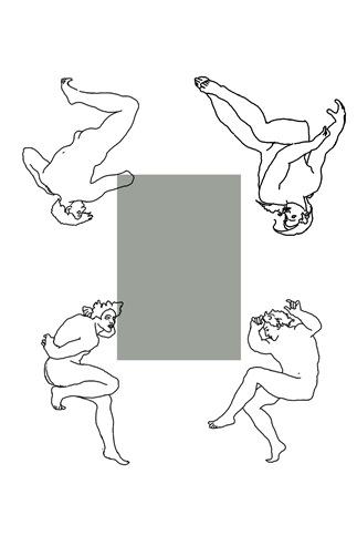 Ilustracja 2 Postacie młodzieńców symbolizujących żywioły