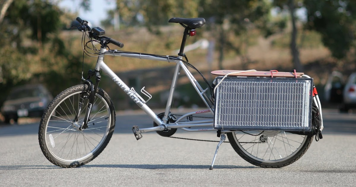 Solar Powered Bike How To Build A Solar Powered Bike Html
