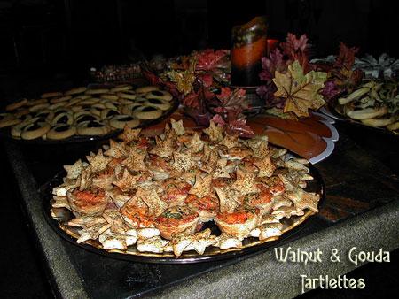 Gouda Walnut Tartlettes