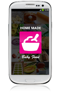Baby Food App Homemade Organic - screenshot