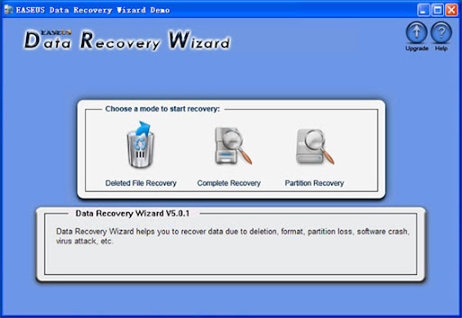 EASEUS Data Recovery Wizard 5.1