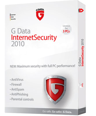 Download G Data Internet Security 2010 with 6 Months Free License
