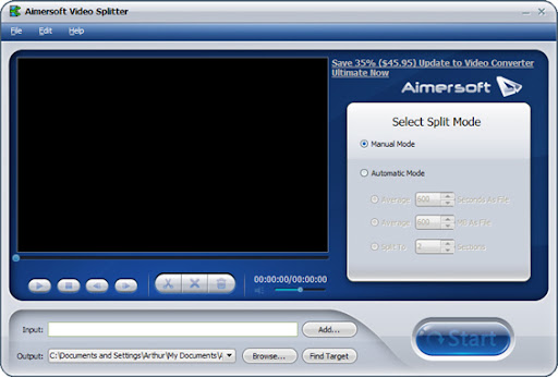 Download Aimersoft Video Splitter 2.5 Full Version for Free