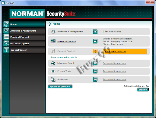 Norman Security Suite 8 [DnBNOR Edition] Free 4 Years License Key