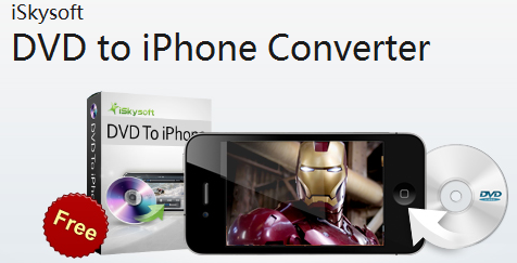 Get iSkysoft DVD to iPhone Converter Free License Key