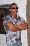 Muscle Hunk - Claude Carroll Lots of Muscle, Lots of Flexing