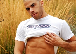 Hot Latin Muscle Hunk - The Boy Next Door