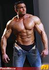 Muscle Hunk Powermen Frank Rosko