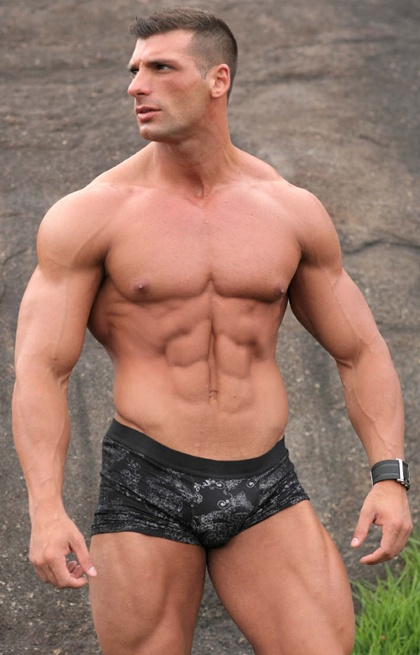 Hot Muscle Men in Colored Underwear