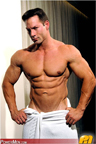 Sexy Bodybuilders in Towel