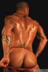 Muscle Hunk JockButt Luis Latin Heat