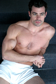Jack Lange Muscle Male Model from NakedNewsDailyMale