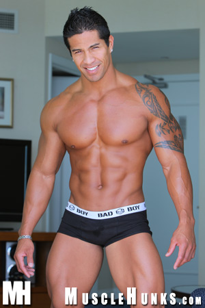 Muscle Hunk Kim Cebu - Exotic Beauty Muscle and Rock Hard Abs