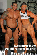 Muscle Hunks from MuscleHunks in Nacho's Gym Parts 2