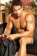 Latin Hairy Muscle Hunk - Marcus Rezende