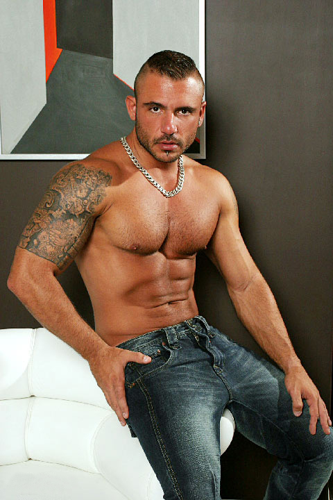 Pedro Andreas - Hot Porn Star with Perfect Rippling Muscle