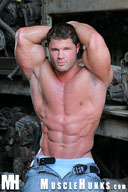 Kurt Beckmann - Muscle Hunk from MuscleHunks HD