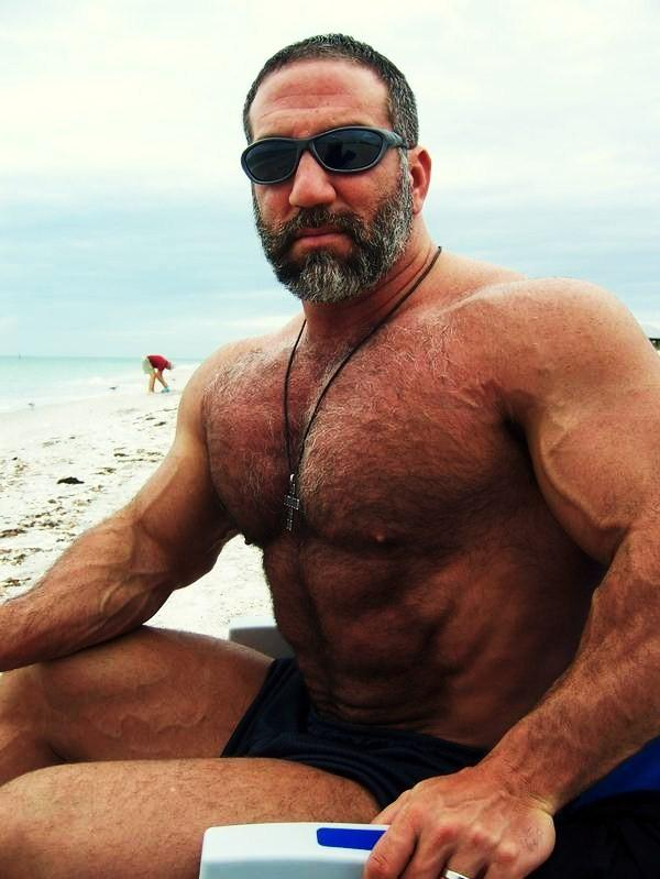 Necessary phrase... hairy bodybuilder gallery