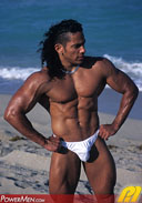 Ricky Mora Miami Muscle Machine from PowerMen
