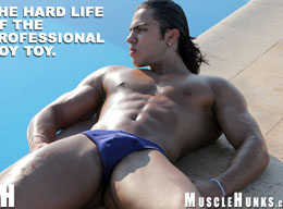 Narcisso Oziel - Young Muscle Pup from MuscleHunks