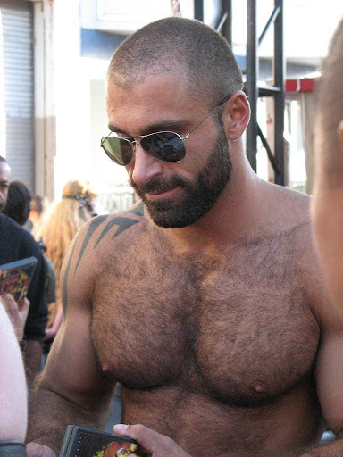 Hunk Daddy and Hairy Muscular Men - Gallery 1