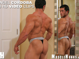 Angel Cordoba - Hot Muscle Hunk from MuscleHunks HD